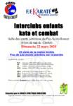 Interclubs enfants kata et combat – CHOLET (49) –